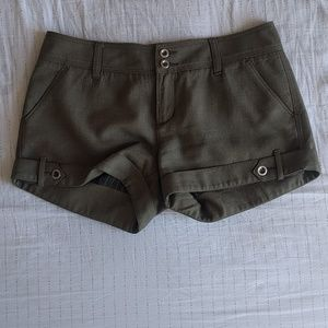 Free People wool blend shorts size 6